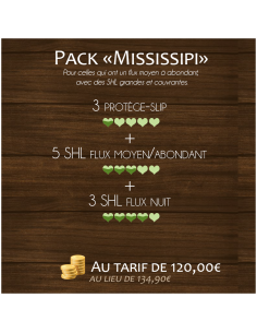 "Pack ""Mississipi"""